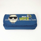fashion pencil bag with zipper for kids