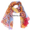 fashion Digital Painted Silk Scarf