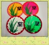 100% Silicone Coffee Cup Mat With Chinese Style, Silicone Kitchenware