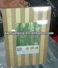 100% natural bamboo stripe cutting block