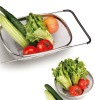 2012 NEW Stainless steel flexiable basket for kitchen ware kitchen sliding basket
