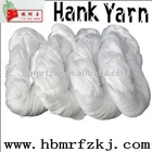 20S/3 HANK YARN / SPUN POLYESTER YARN IN RAW WHITE