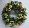 Decorated Golden Wreath