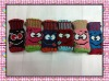 Fashion cute mittens knitted gloves
