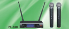 PF-680 UHF wireless microphone