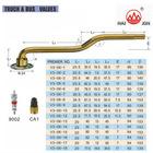 V3-06 series(triple bend) Tire Valves for truck & bus