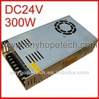 Universal 300W 24VDC with CE [ EMC,LVD ] RoHS hs code power supply