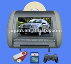 "7"" Headrest DVD Player with Wireless Game Controller"