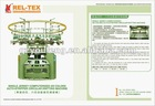 4/6 COLORS SINGLE JERSEY AUTOR-STRIPPER CIRCULAR KNITTING MACHINE