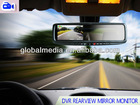 4.3' Car Rear View Mirror GPS and DVR backup camera