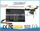 "Feelworld RCA video,audio,power input HD 7""FPV Monitor"