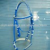 pvc horse bridle for horse racing