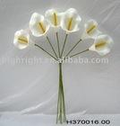 artificial calla lily bunch made of eva for wedding decor