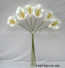 artificial calla lily bunch made of eva for wedding decor