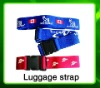 45mmx200cm suitcase luggage strap with words or logo printed
