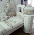 classic lovely euro design baby cot bedding set