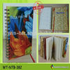 Hardcover Wire-O binding notebook with magnetic closure WT-CTL-290