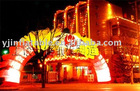 amusing LED lighting inflatable arch decoration(China (Mainland))