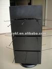 metal rotating display rack