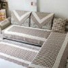 cotton quilted sofa cover mat/floor mat