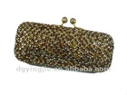 (EB6013) shine evening party bag with golden chain