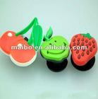 Fruit shape shoes buckle plastic shoes accessory