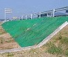 Three-dimensional vegetation earth-fixing mat