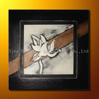 Leather Framed Painting