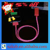 Visible current light charging Cable for iPhone/iPad/iPod