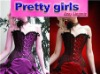 2012 sexy corset m1691