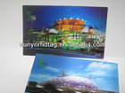 Christmas Greeting 3D Postcard Picture