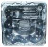 SPA 2000 -1MD outdoor spa tub