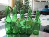 green beer glass bottle