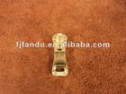 Gold metal zipper puller