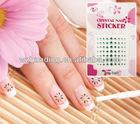 french nail art sticker