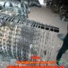 BTO-22 hot dip galvanized razor barbed wire in store