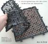 Interlocking Plastic Base for tile