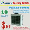 solar ac output system 10w