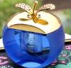 apple shape crystal perfume holder