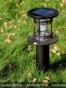 ROHS Aluminum outdoor solar lighting garden solar mushroom garden light 1.5w 10000mA