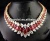 wedding cz diamond necklace