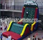 Outdoor large climber inflatable rock climbing wall