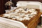 shorn sheepskin bed blanket