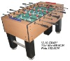wooden table soccer in large size
