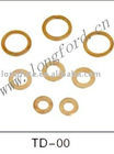 Flat Copper washer with brass material for car