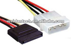Serial to Molex 4P sata power cable