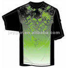 Mens boys MMA Customized sublimation printing T-Shirt