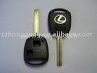 2 button remote key shell for lexus & auto key