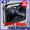 4.3 inch Portable GPS Navigation Touch Screen with New Maps