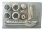 "11pcs Water Aluminum Radiator Accessories 11-pc Kit 1/2"" 3/4"""